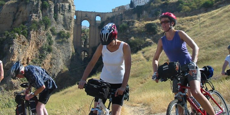 bike tour - low cost incentive