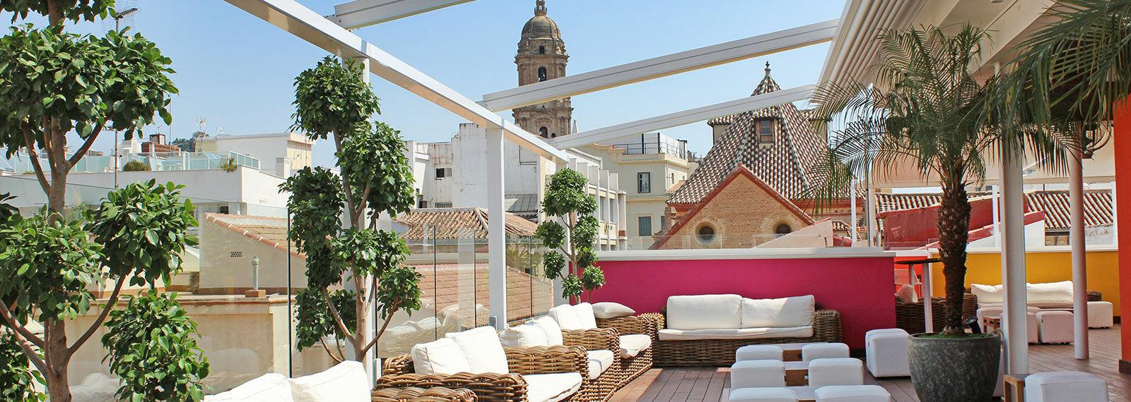 Rooftop terrace Malaga